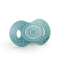 Elodie Details - Blue Plastic And Silicone Pretty Petrol Pacifier - Blue/White
