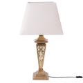 Lampada da tavolo beige 76cm BADDANA