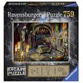 Ravensburger Escape Room Mystery Puzzle Knight's Castle - Submarine 759 Piece Jigsaw Puzzles for Adults & Kids Age 12 and Up