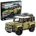 LEGO Technic Land Rover Defender, Fuoristrada 4x4, Modello Esclusivo da Collezione, Set di Costruzioni Avanzato, 42110