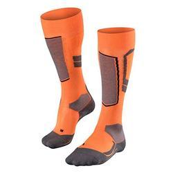 FALKE SK4 Wool Knee Socks Women's Knee Socks - Flash Orange, 41-42