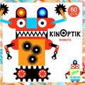 Djeco - Robots 60 Pieces KinOptiK - Multicolour   tu - White