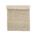 Bloomingville - Woven Wool Natural Rug - woven wool