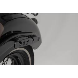 Portalaterale SW-Motech SLH a sinistra - Harley-Davidson Softail Slim (12-17).