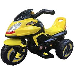 FEE-ZC Kid Safety Kids Ride on Motorcycle, 6V Battery 3 Wheels Motorbike for Children 1-6 years old, Tricycle Electric Motor Bicycle with Headlights & Music