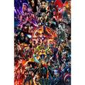 JIGSAWTOY YAW Avengers Jigsaw Puzzle, Adult 1000 Pieces Wooden Decompression Puzzle Children's Educational Toys Gifts (Color : Product 3, Size : 1500 pieces)