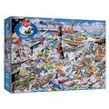 Gibsons Jigsaw Puzzle: I Love Boats (1000 pieces)