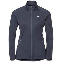 ODLO Zeroeight Women's Warm Windbreaker Jacket, womens, 312461, odyssey gray, XS