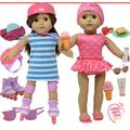 The New York Doll Collection Doll Accessories Fits 18 Inch / 46cm Dolls - Includes Roller Skates and Bathing Suit Swim Set for Fashion Girl Dolls - Doll Clothing and Many More Accessories