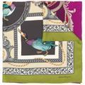 Duck Print Scarf - Purple - Ferragamo Scarves