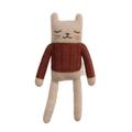 Main Sauvage - 23cm Baby Alpaca Wool Kitten Comforter