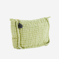 Madam Stoltz - Quilted Linen Toilet Bag