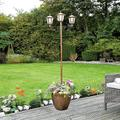 Solar Lamp Post With Planter by Coopers of Stortford