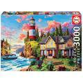 Educa Borras 18507 Educa Borrás Lighthouse Near The Ocean 3000 Piece Jigsaw Puzzle
