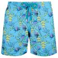 Swimwear Embroidered Go Bananas - Limited Edition - Blue - Vilebrequin Beachwear