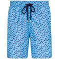 Moorea Turtle Swim Shorts - Blue - Vilebrequin Beachwear