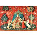 """1000 Pieces Of Wooden Jigsaw Puzzle, Interest Toy Gift Decoration Painting""""The Lady And The Unicorn"""" 1015 (Size : 500 pieces)"""