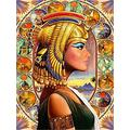 Feizhai Adult jigsaw puzzle 1000 pieces wooden jigsaw Egyptian goddess, suitable for teenagers and adults, very good educational game