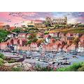 YuLiZP Wooden Jigsaw Puzzle 1000 Pieces,Whitby Sunset Diy Kitadults And Children – Puzzles Children Puzzle Games Toys Birthday Animation