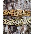 Stoned & Waisted - Delores Belt Leopard Neon Edge - 100cm