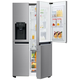 LG GSJ760PZZZ amerikanischer Side by Side Kühlschrank, Wasserspender