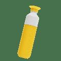 Dopper - Original 450 ml Yellow Sunshine Splash Water Bottle - 450 ml | plastic | yellow | Sunshine Splash - Yellow/Yellow