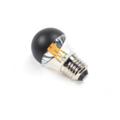 Serax - Deco LED Lamp E27 G45 Dimmable D4.5 4 W - 4,5x4,5x4,5 Ht   glass   glass/ black