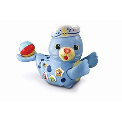 VTech Popping Surprise Seal, Baby Music Toy for Sensory Play, Educational Toys for Kids, Baby Interactive Toy with Lights and Songs, Musical Toy Suitable for Boys and Girls 6 Months +