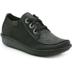 Funny Dream Womens Casual Shoes - Black - Clarks Flats