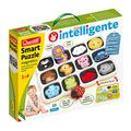 Quercetti - 0231 Smart Puzzle First Words & Colours Shapes & Colours
