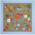 GG Flora Print Silk Scarf - Natural - Gucci Scarves