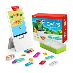 Osmo - Coding Starter Kit for Fire Tablet - 3 Educational Learning Games - Ages 5-10+ - Learn to Code, Coding Basics and Coding Puzzles - (Osmo Fire Tablet Base Included)