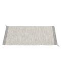 Muuto - 85 x 140cm Off White Light Grey Wool PLY Rug - wool   light grey - Light grey