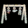 Little Dutch - Wooden Baby Gym Mint