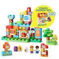 LeapFrog LeapBuilders ABC Smart House Interactive Learning Blocks Playset, Multicolor