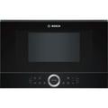 Bosch BFL634GB1B Serie 8 21L 900W Built-in Microwave Oven - Black