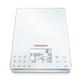 SOEHNLE Food Control Easy Küchenwaage, Innovative und patentierte Sensor-Touch-Technik, Material: Sicherheitsglas/Kunststoff