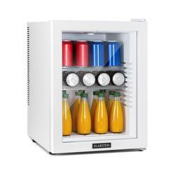 Brooklyn 42 Silver, mini frigorifero, EEC A, sportello di vetro, LED, inserto, bianco