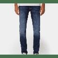 Nudie Jeans - Dark Deep Lean Dean Worn Jeans - 36/32