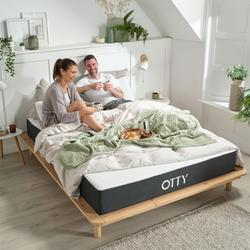 OTTY Hybrid Mattress Small Double - Memory Foam Mattress And Pocket Spring Mattress - Combination Mattress Both Comfortable and Supportive Mattress - Small Double Size Mattrress 120cm x 190cm