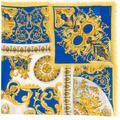 Barocco Print Scarf - White - Versace Scarves
