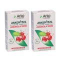 Arkopharma Arkovital® Acerola 1000 Vitamina C 2 Confezioni 60 pz Capsu