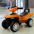 Bck Electric Toy Car 6V4.5AH Electric Four-Wheeler Children Electric Car 380 High Speed Motor Four-Wheeled Electric Baby Carriage Child Toy Car Can Sit People Ride On Vehicles Boy Girl Swing RC Child