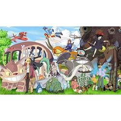 Wapipey Cartoons Puzzle Spirited Away Anime Jigsaw Puzzle 1000 Piece Wooden Puzzle Puzzles HD Printed Poster Jigsaw Puzzle Adult Decompression Home Puzzle Game Kids Puzzle Educational Gift