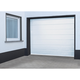 Schellenberg Sektional-Garagentor Komplettset weiß inkl. Torantrieb Drive Action, 237,5 x 212,5 cm