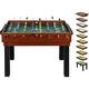 shelfmade umfangreicher Multifunktionsspieltisch Tischkicker-Multifunktionstisch (10 in 1) für die ganze Familie