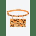 S120 - Jen Belt Purse Orange - ONE SIZE