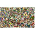 Wapipey Cartoon Puzzle Futurama Anime Jigsaw Puzzle 1000 Pieces Wooden Puzzles Fun Toys High Difficulty Dense Puzzle Adult Decompression Jigsaw Puzzle Kids Home Puzzle Game Gift