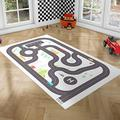PLAYGROUND Baby Play Mat - Baby Playmat & Baby Play Gym: Rubber Matting Playmats for Baby Gym - Play Mats for Toddlers & Baby Play Mats for Floor - Alternative to Large Foam Mats for Kids, 100x150cm