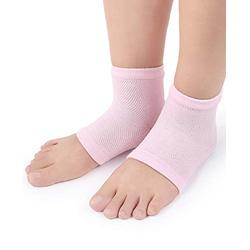 Moisturizing Gel Heel Socks Feet Care Treatment For Dry Cracked Rough Skin On Feet Open Toe Socks For Bone Spur And Heel Spur Pain Relief, Cracked Heels (Color : 10 Pairs)